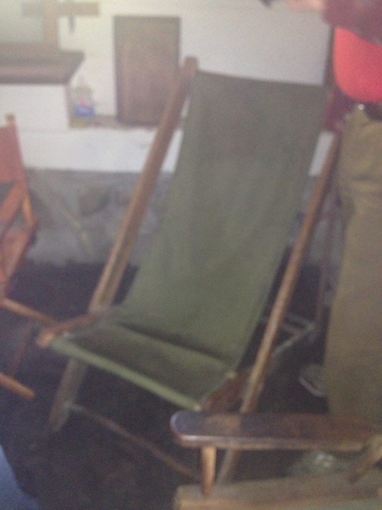 Aldo Leopold chair from the shack
