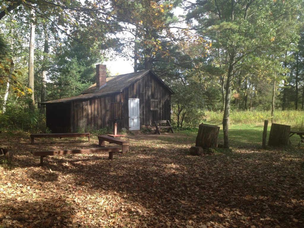 Leopold Shack in the fall