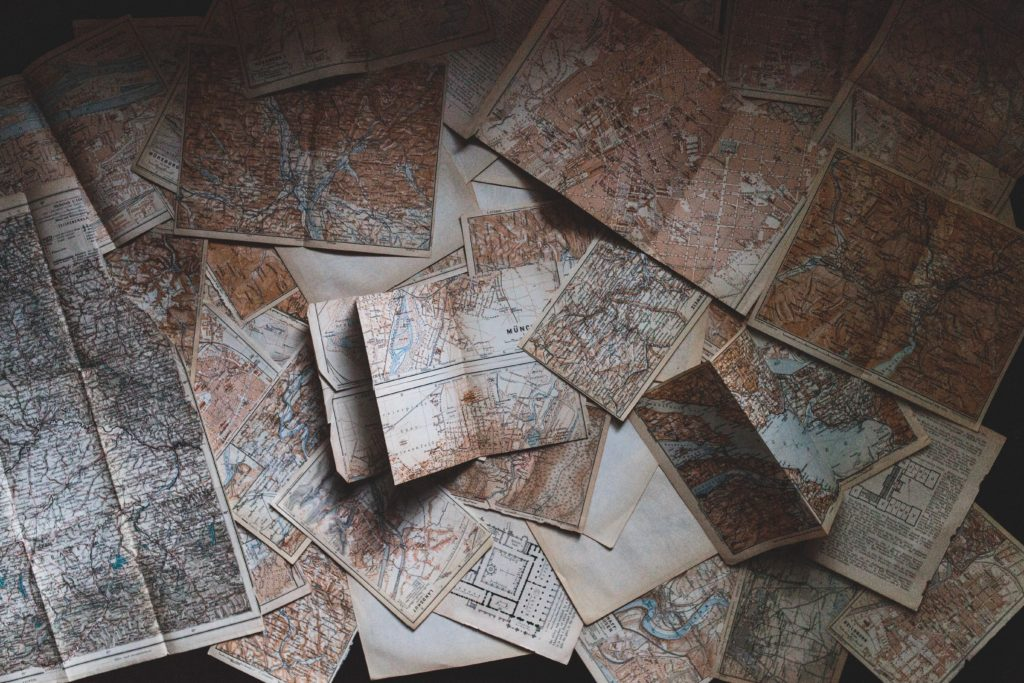 paper maps
